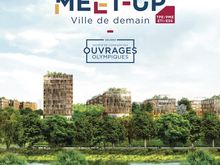 Affiche Meet-up Ville de demain A4 copie